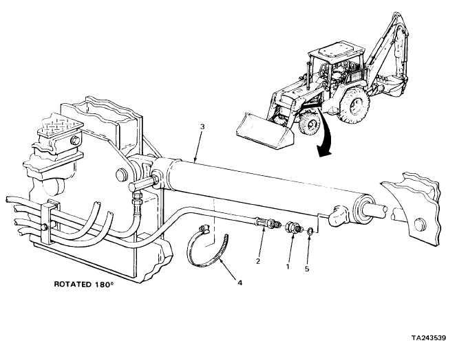 loader control valve