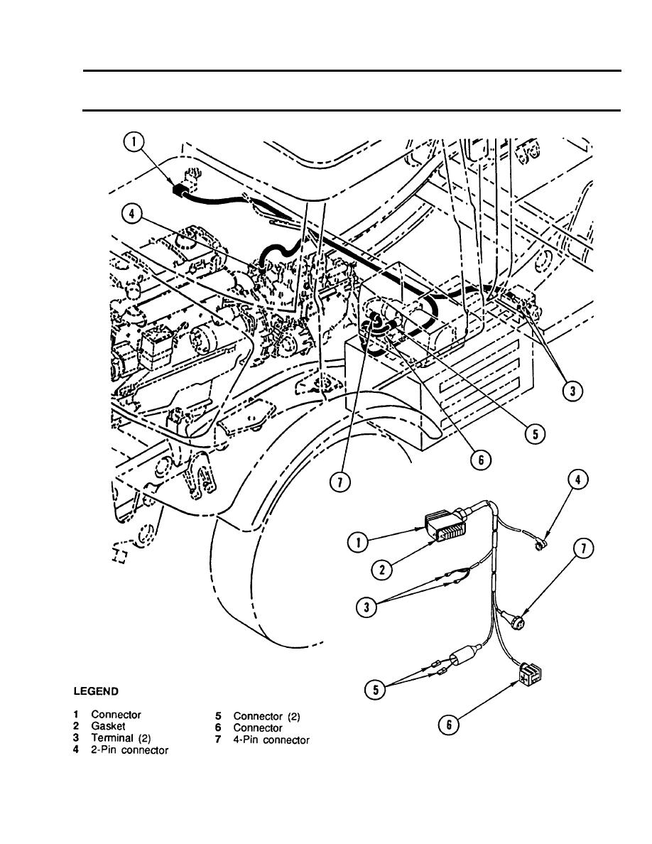Cab Floor Separation Point To Hydraulic Suspension Lockout Wiring Auto Harness Replacement Continued